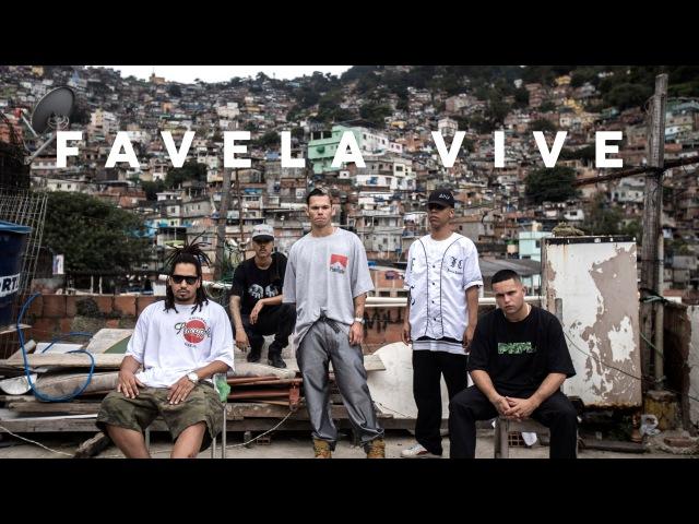 Favela Vive (Cypher) - ADL, Sant, Raillow Froid (prod. Índio)