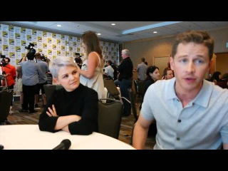Once Upon A Time's Ginnifer Goodwin and Josh Dallas Talk S5 and new Hair!