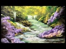 Spray Paint Art - The Joy of Spray - Spray Painting Forest and Stream
