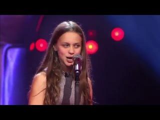 Voice Kids - 12-Year Old Resa Sings Metallica's Nothing Else Matters - Breathtaking