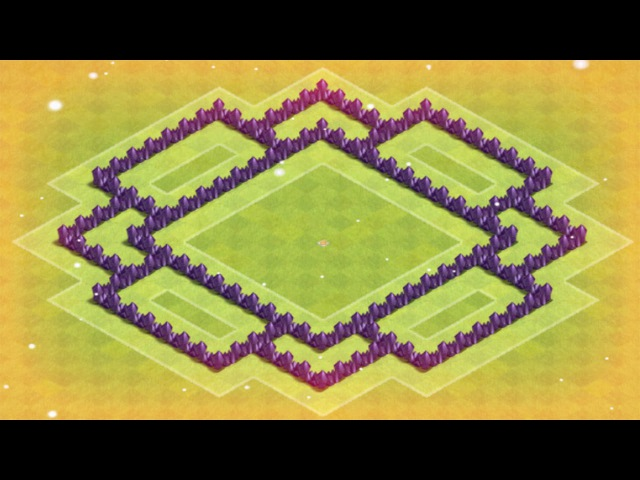 Clash of Clans - TH6/ТХ-6/Ратуша-6 (ЛРБ)