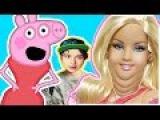 Свинка Пеппа мультфильм - Пеппа похудела, а Барби стала жирухой