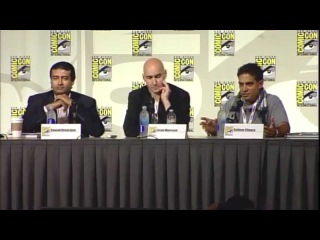 Grant Morrison talks 18 Days at Comic-Con 2013 Part 1