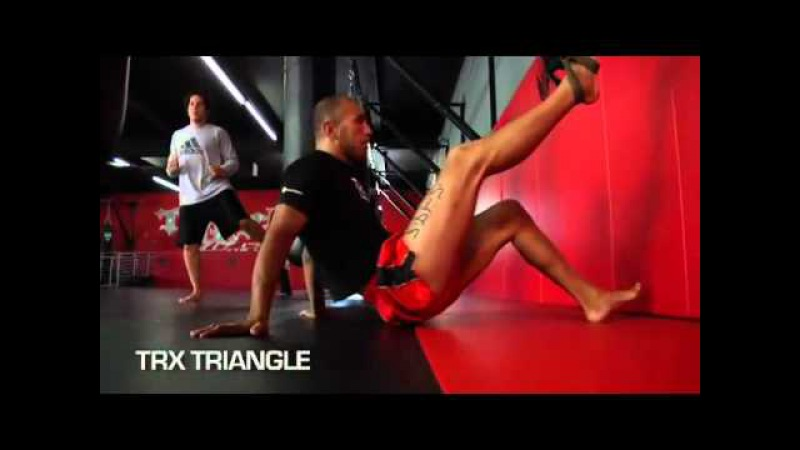 Brandon Vera TRX Training For UFC 102