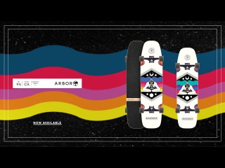 Arbor Skateboards :: 2017 Crosscut Series