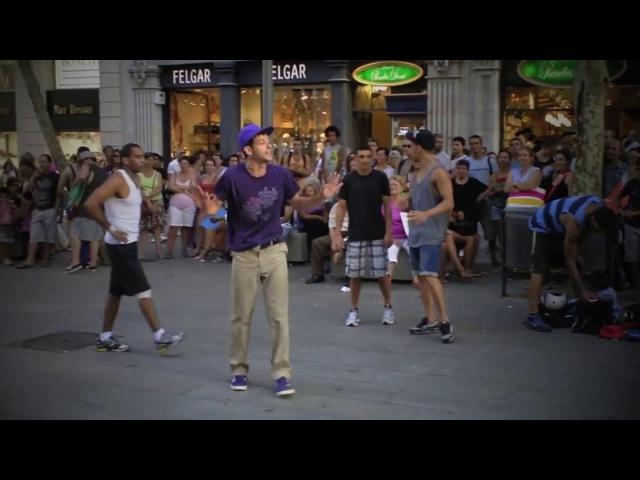 ИСПАНСКИЙ БРЕЙКДАНС ► Уличные Танцоры Шокировали Толпу Барселона