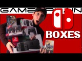 We Have the Nintendo Switch! Unboxing the Box It Came in + Switch Accessories, Zelda, & amiibo