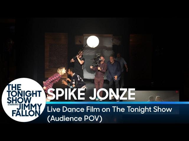Spike Jonze's Live Dance Film on The Tonight Show