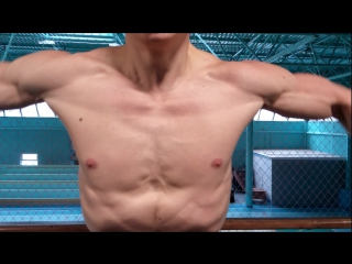 У натурального атлета грудь сильно сечется даже при высоком проценте жира!
