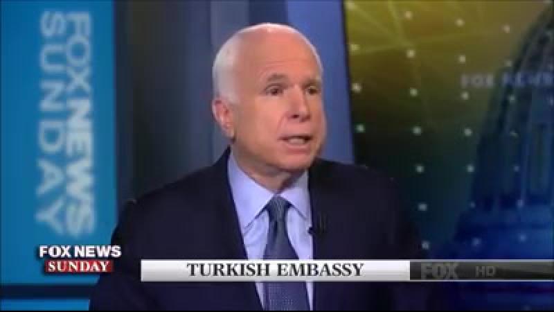 Джон Маккейн повторяет: Выдворить посла Турции к черту.