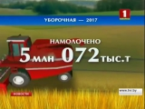 Белорусские аграрии намолотили 5 миллионов тонн зерна