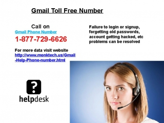 Gmail Help Phone Number 1-877-729-6626 Instant & Effective
