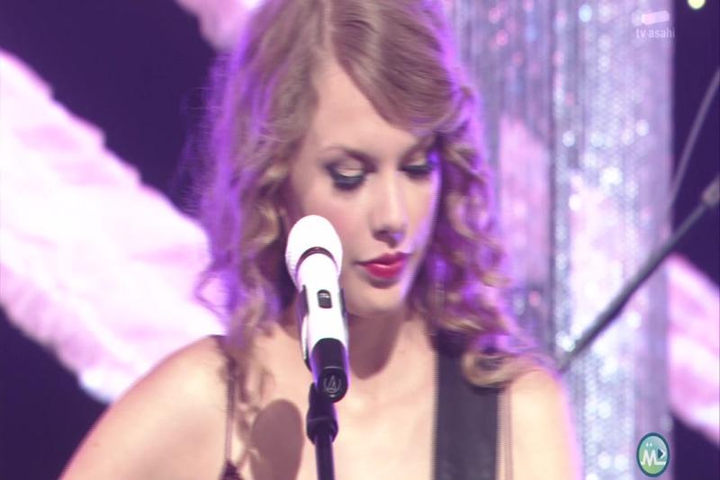 Taylor Swift - Mine (Live at Music Station, Japan 2010)