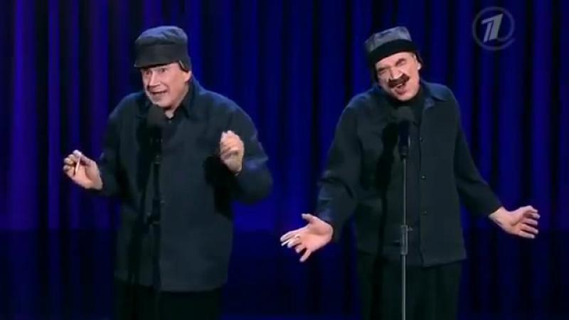 Повтори Валерий и Александр Пономаренко пародия на Илью Олейникова и Юрия Стояно