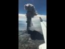Пролетая недалеко от вулкана Сабанкая (Перу) Отправлено: Diario Correo