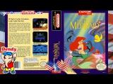Русалочка Денди Полное прохождение игры на Dendy The Little Mermaid NES Американская игра 1991