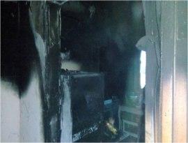 В  Сиговке из-за нагревателя сгорела квартира