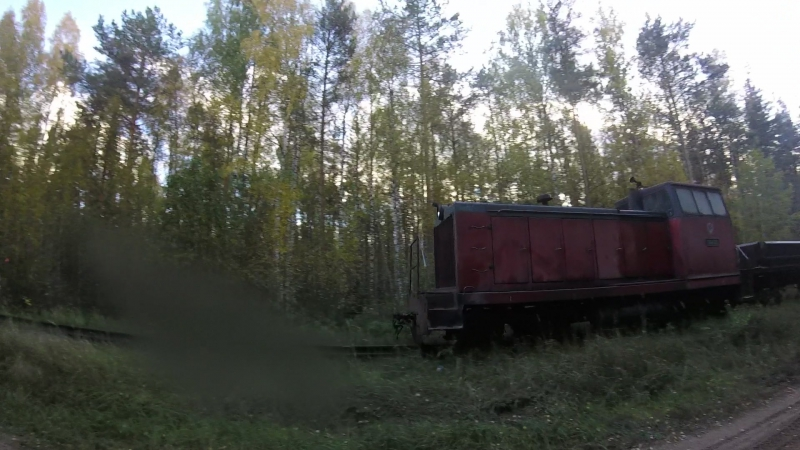 ТУ7А-3215 на УЖД КСМ-2 (Тверь)
