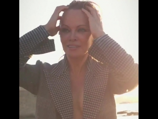 Pamela Anderson - W magazine 2017
