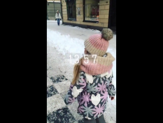 Instagram stories video by Kristina