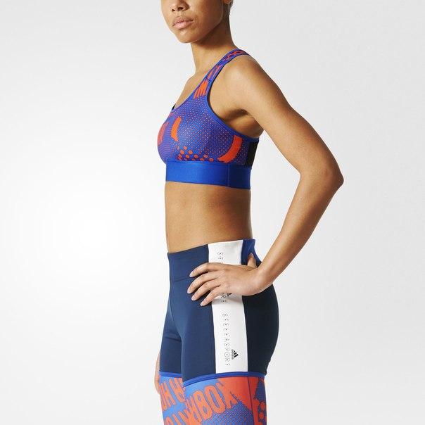 Спортивный бра-топ adidas STELLASPORT Printed