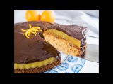 Пирог с апельсиновым желе Vegan jaffa cake cake recipe