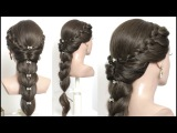 Easy hairstyle for long hair tutorial step by step