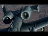 F-16 Falcons &amp A-10 Thunderbolts Refuel Over Iraq (2017)