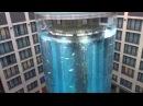 Аквариум с лифтом в берлинской гостинице
