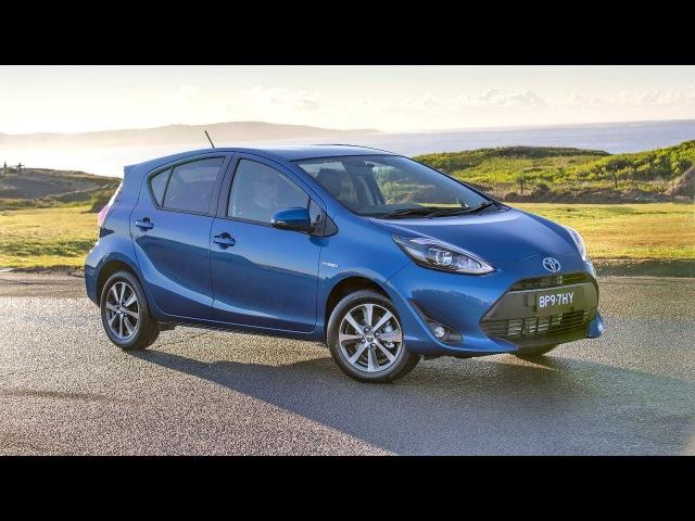 Toyota Prius c AU spec 2017