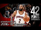 Kyrie Irving Full Highlights 2017 ECF Game 4 vs Celtics - UNREAL 42 Pts, 21 in 3rd Quarter!