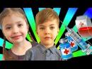 ЧЕСОТКА Опасная ЗАРАЗНАЯ инфекция Укол в попу Играем в ДОКТОРА Play Doctor