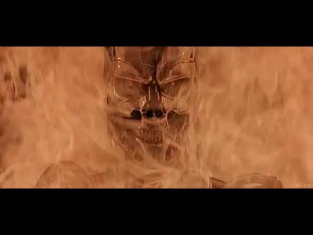Terminator on fire