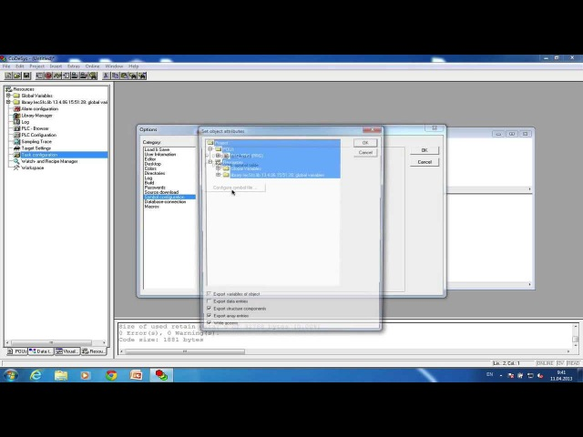 OPC сервер CDS2 3 под Win7