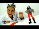 Ловушка для Джокера из НЕОКУБ ⚡ Видео кукла Барби Шпионка! Опыты для Детей Игру...