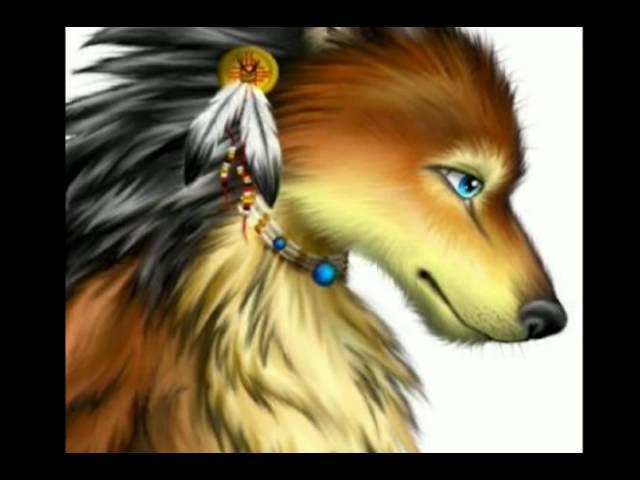 Аниме волки