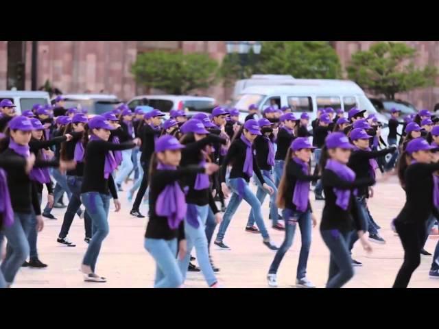 Флешмоб в Армении посвященный 100-летию геноцида армян -Дарцир Им Ани