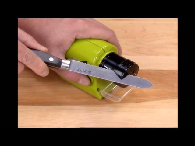 Точилка для ножей Swifty Sharp Motorized Knife Sharpener - belts_com_ua