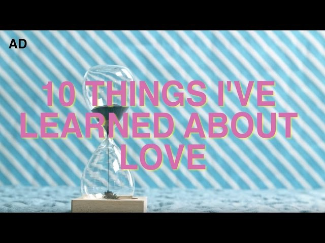 10 Things I've Learned About Love (in 1 minute) | TimH Yulin Kuang Ad