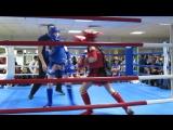 Первый бой Сергея по тайскому боксу.Турнир по тайскому боксу