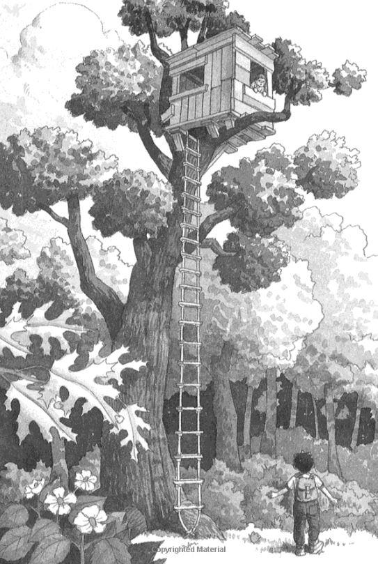 Волшебный дом на дереве. Динозавры в предрассветных сумерках