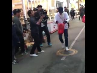 28.11.2016 Съёмки 328 эп. шоу Running Man / Беглецы.