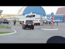 Кортеж В.В.Путина в Йошкар-Оле