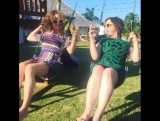 thejram No better combination than wine, swings, craccola oh and a paradise wedding in