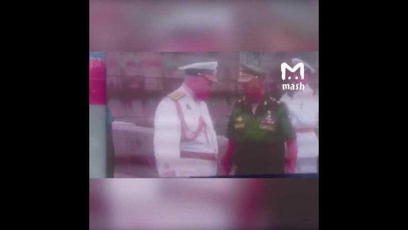 Верховный главнокомандующий России