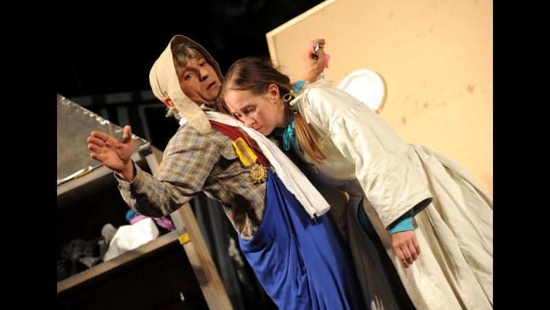 Дульсинея Тобосская ( реж. В.Крамер) Финальная сцена МТЮЗ 2012 год.