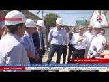Замминистра экономического развития РФ Сергей Назаров посетил объекты социальной инфраструктуры и культурного наследия Крыма Сох