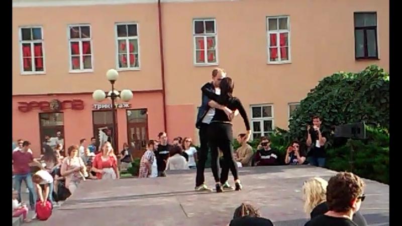 Бачата - Саша и Оксана - БИГ мини ФЕСТ (Гродно)