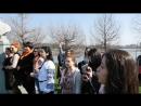 Покладання квітів до памятника Т.Г. Шевченко. Румунія, Бухарест. 2017 рік