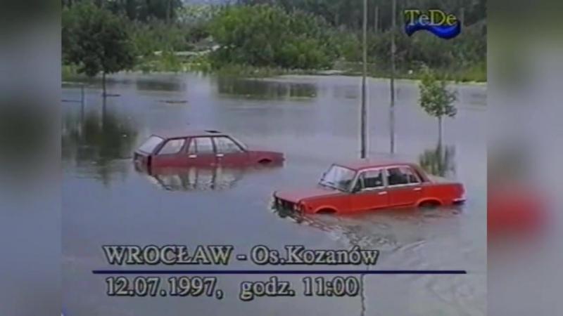 Потоп у Вроцлаві 12 07 1997